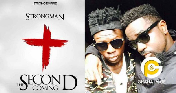 "Cover page of strongman's '""The Second Coming"" first song after leaving Sarkcess Music"